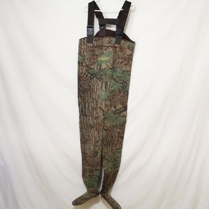 Cabela's Neoprene Stocking Foot Waders Realtree